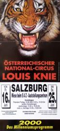 Circus Louis Knie Circus poster - Austria, 2000