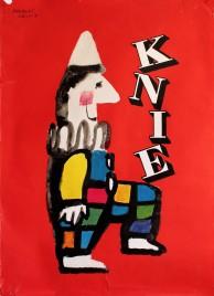 Circus Knie Circus poster - Switzerland, 1956