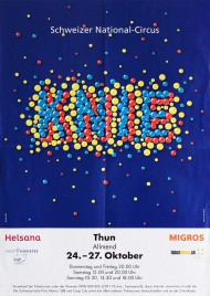 Circus Knie Circus poster - Switzerland, 2013