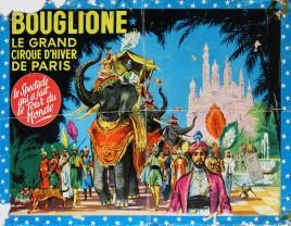 Bouglione - Cirque d'Hiver de Paris Circus poster - France, 1961