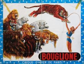 Bouglione - Cirque d'Hiver de Paris Circus poster - France, 0