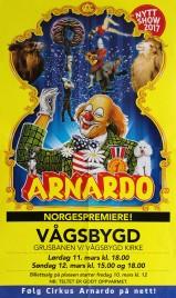 Cirkus Arnardo Circus poster - Norway, 2017
