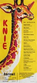 Circus Knie Circus poster - Switzerland, 1965