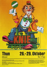 Circus Knie Circus poster - Switzerland, 1971