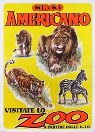 Circo Americano Circus poster - Italy, 1984