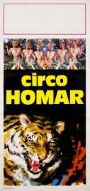 Circo Homar Circus poster - Italy, 1974