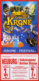 Circus Krone Circus poster - Germany, 2000