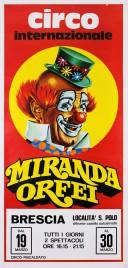 Circo Miranda Orfei Circus poster - Italy, 0