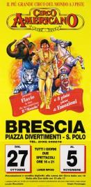Circo Americano Circus poster - Italy, 1995