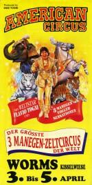 American Circus Circus poster - Italy, 1992