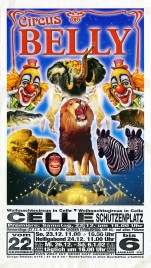 Circus Belly Circus poster - Germany, 2001