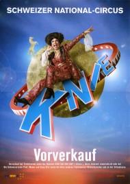 Circus Knie Circus poster - Switzerland, 2018