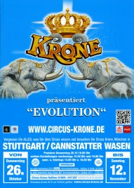 Circus Krone Circus poster - Germany, 2017