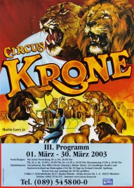 Circus Krone Circus poster - Germany, 2003