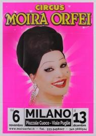 Circo Moira Orfei Circus poster - Italy, 2015