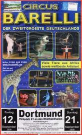 Circus Barelli Circus poster - Germany, 2008