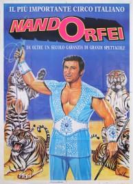 Circo Nando Orfei Circus poster - Italy, 1985