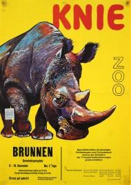 Circus Knie Circus poster - Switzerland, 1967