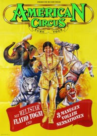 American Circus Circus poster - Italy, 1993