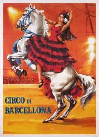 Circo di Barcellona Circus poster - Italy, 1968