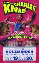 Zirkus Charles Knie Circus poster - Germany, 2018