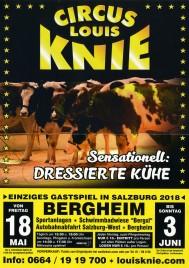 Circus Louis Knie Circus poster - Austria, 2018