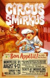 Circus Smirkus Circus poster - USA, 2015