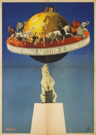 Internationale Artisten und Tierdressuren Circus poster - Germany, 0