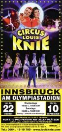 Circus Louis Knie Circus poster - Austria, 2017