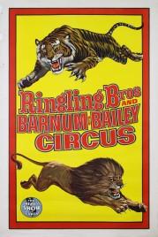 Ringling Bros. and Barnum & Bailey Circus Circus poster - USA, 1969