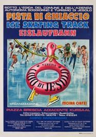 Pista di Ghiaccio - Ice Skating Track Circus poster - Italy, 0
