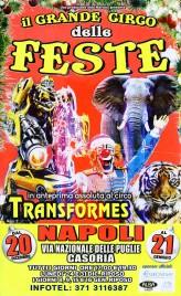 Il Grande Circo delle Feste Circus poster - Italy, 2018