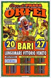 Circo Marina Orfei Circus poster - Italy, 2018