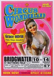 Circus Wonderland Circus poster - England, 2016