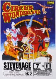 Circus Wonderland Circus poster - England, 2015