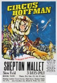 Circus Hoffman Circus poster - England, 1972