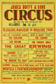 James Duffy & Sons Circus Circus poster - Ireland, 1968