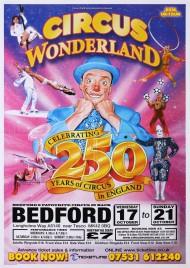 Circus Wonderland Circus poster - England, 2018