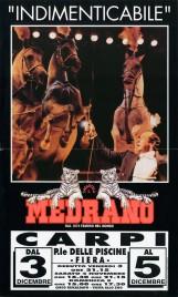 Circo Medrano Circus poster - Italy, 1993
