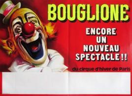 Bouglione - Cirque d'Hiver de Paris Circus poster - France, 1973