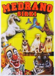 Medrano Sirki Circus poster - Italy, 2010