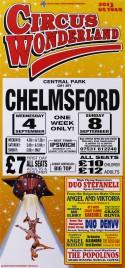 Circus Wonderland Circus poster - England, 2013