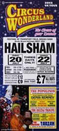 Circus Wonderland Circus poster - England, 2012