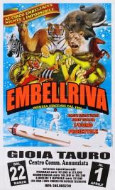 Circo Embell Riva Circus poster - Italy, 2013