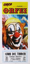 Circo Paride Orfei Circus poster - Italy, 1982