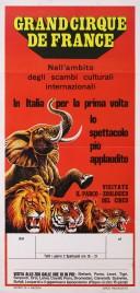 Grand Cirque de France Circus poster - Italy, 1981