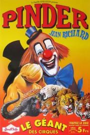 Pinder - Jean Richard Circus poster - France, 0