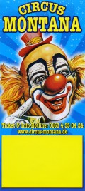 Circus Montana Circus poster - Germany, 2012