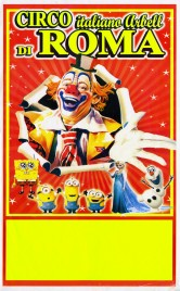 Circo italiano Arbell di Roma Circus poster - Italy, 2016