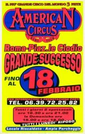 American Circus Circus poster - Italy, 2001